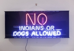 No Indians or Dogs Allowed