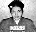 Rosa Parks - Booking Photo, Montgomery Bus Boycott