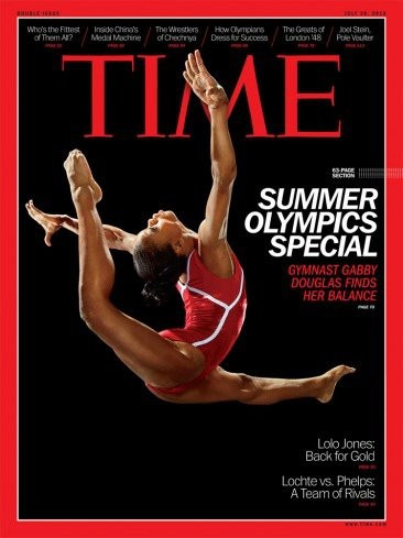 Gabby_douglas_on_time_cover